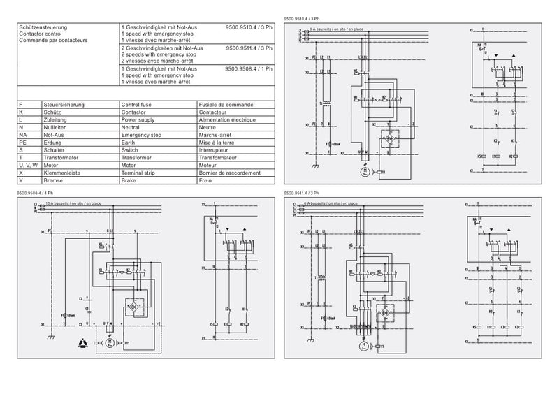 GPM 250 - Wiring Diagram A Hoist Contactors Wiring Diagram on