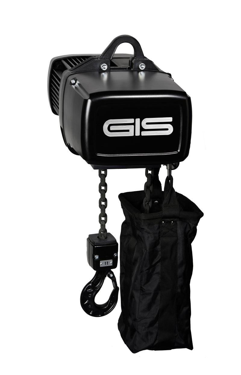 LP Entertainment Chain Hoist for General Rigging purposes to D8 guidelines - Lifting Capacity 125kg - 6300kg