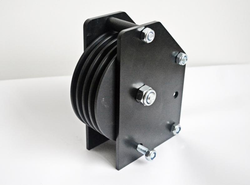 Pulleys for Pile wind Winches - LTM Lift Turn Move