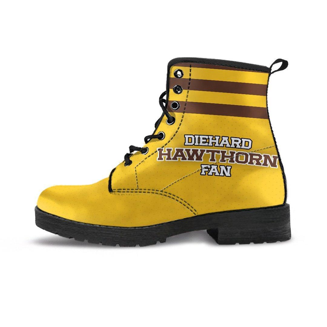 3526a61c739 Diehard Hawthorn Fan Eco-Leather Boots '18 (Aussie Rules)