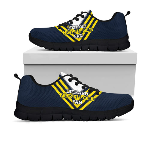 4f0dbc1f659c Diehard North Queensland Fan Sneakers (Rugby League)