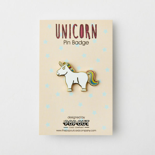 Unicorn Enamel Pin Badge