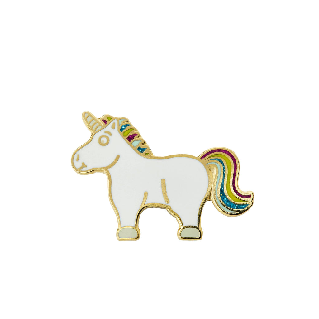 Unicorn Pin Badge FREE UK DELIVERY