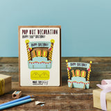 Pop Out 100th Birthday Card