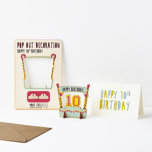Birthday cards the pop out card company the pop out card company pop out 10th birthday card pop out 10th birthday card bookmarktalkfo Images