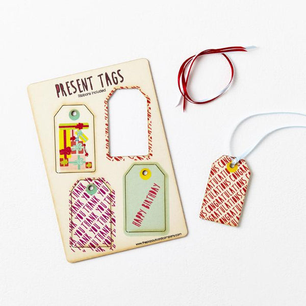 Pop Out Mixed Gift Tags