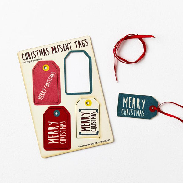 Pop Out Christmas Gift Tags