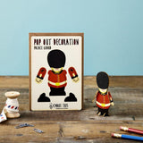 Pop Out Palace Guard Greeting Card