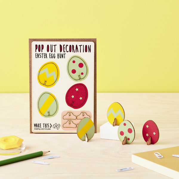 Pop Out Easter Egg Hunt Greeting Card
