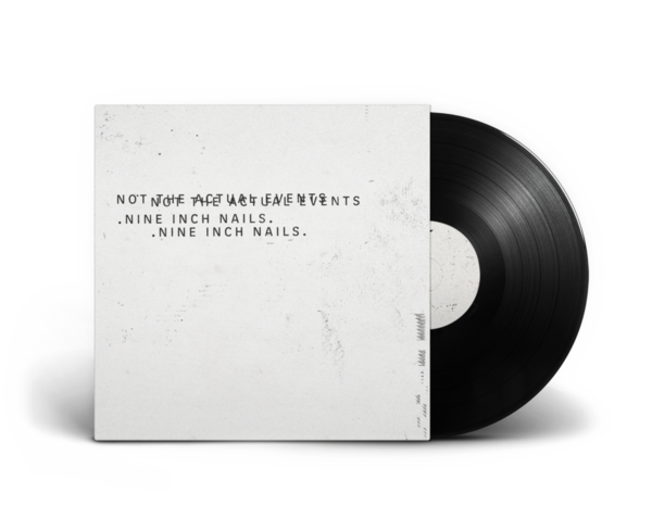 PRE-ORDER - NOT THE ACTUAL EVENTS 1XLP + HI RES DIGITAL