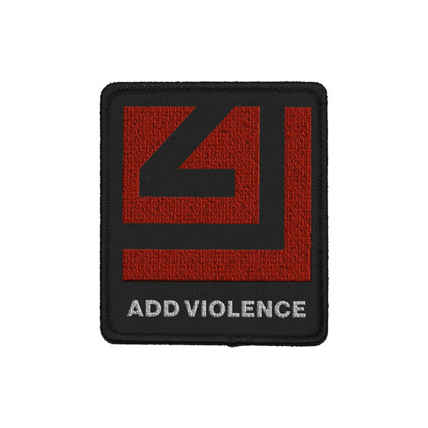 ADD VIOLENCE RED LOGO PATCH