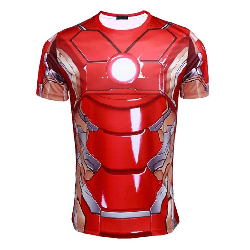Iron Man 3D T-shirt