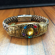 Marvel Avengers Infinity Bracelet For Women Men Thanos Infinity Power Bangle Fashion Jewelry