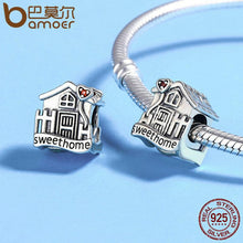 Sweet Home Loft Villa Charms fit Bracelets DIY Fine Jewelry 925 Sterling Silver