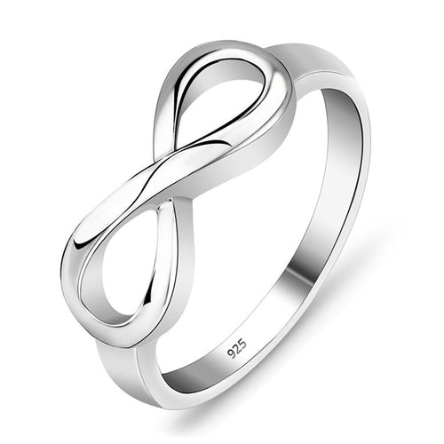 Infinity Ring Sterling silver 925