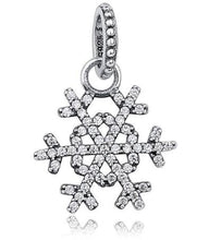 Radiant Orchid Snowflake MOM Daisy Pendant Beads Fit Charm 925 Sterling Silver for Bracelet