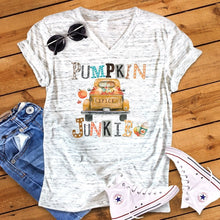 Pumpkin spice junkie tee graphic top womens new female tshirt  tops