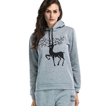 Cool Christmas Hoodies Men/Women O-Neck Cartoon Print  Plus velvet Sweatshirts Winter Clothes Casual Pullover - Beth's Closet
