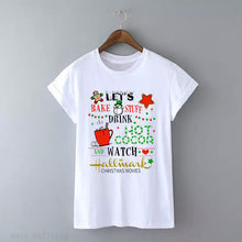 Lets Bake and watch Christmas Movies T-Shirt - Beth's Closet