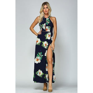 'Fitting In Floral' Maxi Dress