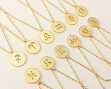 Load image into Gallery viewer, Zodiac Gold Necklace