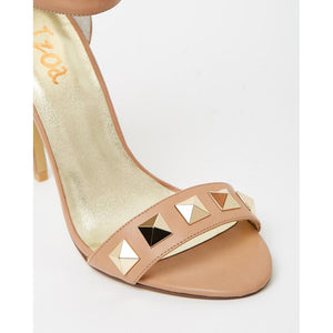 Izoa Greece Heels Taupe