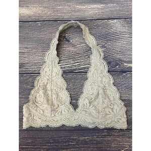 'It's All In The Lace' Halter Bralette