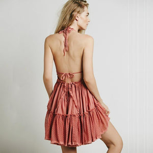 'Daydreamer' Backless Dress