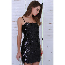 Load image into Gallery viewer, Black Party and Cocktail Dress