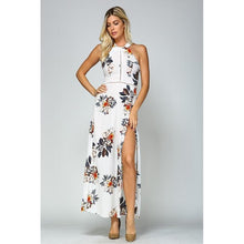 Load image into Gallery viewer, 'Fitting In Floral' Maxi Dress