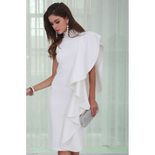Load image into Gallery viewer, White Midi Dress