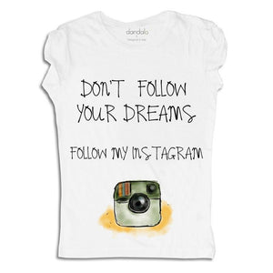 "T-Shirt ""Follow My Instagram"""