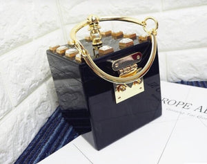 Marble Cube Hand Bag
