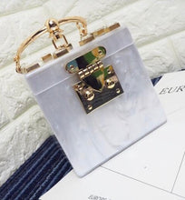 Load image into Gallery viewer, Marble Cube Hand Bag