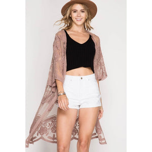'Lovely In Lace' Cardigan