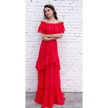 Load image into Gallery viewer, Red Maxi Dress