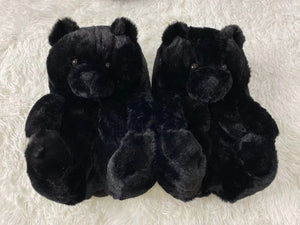 Teddy Bear Aesthetic Slippers