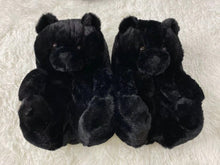 Load image into Gallery viewer, Valentines Day Teddy Bear Slippers