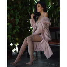 Load image into Gallery viewer, Izoa Blushing Bee Boot Blush with Rose Gold