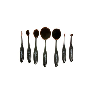 7pc Blending & Contouring Soft Oval Brush Set