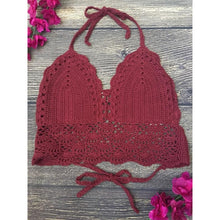 Load image into Gallery viewer, 'Cali Dreamin' Crochet Top