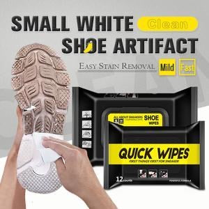 Quick White Shoe Wipes