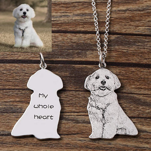 I Love My Pet Necklace