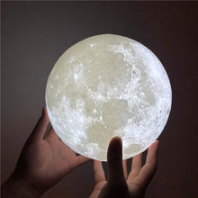 Load image into Gallery viewer, Luna - Moon Nightlight Lamp