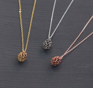 Pinecone Aesthetic Necklace