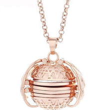 Load image into Gallery viewer, Expanding Photo Locket Necklace