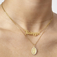 Load image into Gallery viewer, Personalized 18K Gold Plated Name Necklace