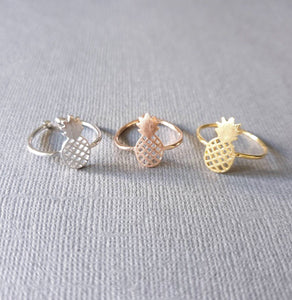 Pineapple Ring (Adjustable)