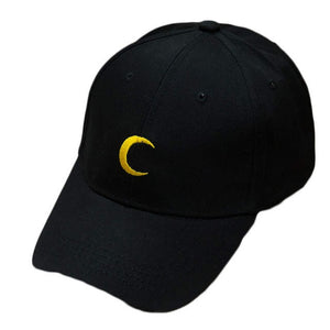 Crescent Moon Dad Hat