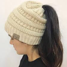 Load image into Gallery viewer, Ponytail Beanie